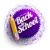 Back To School Design vector illustration