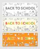Back To School Doodle Concept Royalty Free Stock Images