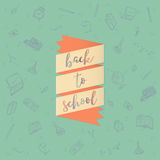 Back to school doodles background Stock Photography