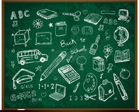Free Back To School Doodles On Board Royalty Free Stock Images - 20552469