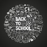 Back to school doodles Stock Photo