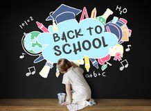 Back To School Education Academics Study Concept. Back To School Education Academics Study Royalty Free Stock Images