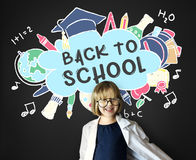 Back To School Education Academics Study Concept. Back To School Academics Study Concept Royalty Free Stock Images