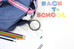 Back to school education background Stock Photo