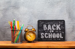 Back to school. Education background concept . Stock Photo