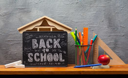 Back to school. Education background concept . Stock Images