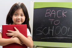 Back to School Education Concept on White / Back to School Education Concept Royalty Free Stock Photography