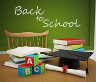 Back to school or education Stock Photography