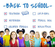 Back to School Education Knowledge Insight Wisdom Concept Royalty Free Stock Image