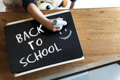 Back to School Education Knowledge Intelligence Insight Concept Stock Photo