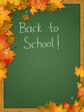 Back to school, education vector background Stock Photography
