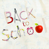 Back to School. EPS 10 Royalty Free Stock Image