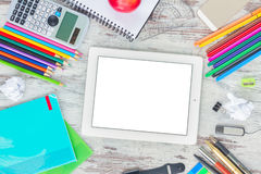 Back to school frame Stock Photography