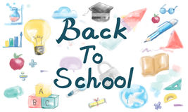 Back to School Fun Education Learning Concept Royalty Free Stock Images