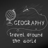 Back to School - Geography Royalty Free Stock Photos