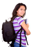 Back to school girl Royalty Free Stock Photo
