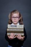 Back to school girl Stock Image