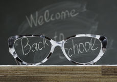 Back to school glasses Stock Photography