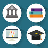 Back to school graphic Royalty Free Stock Photo