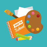 Back to school graphic Stock Photos