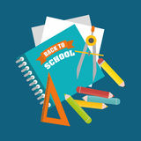Back to school graphic Stock Photo