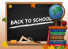Back to school. Greeting card Stock Image