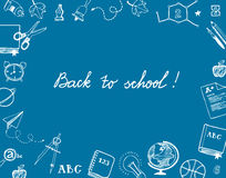 Back to school greetings Royalty Free Stock Photography