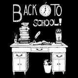 Back to school hand drawn Royalty Free Stock Photography