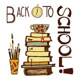 Back to school hand drawn Stock Images