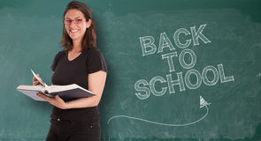 Back to school, happy Stock Photography