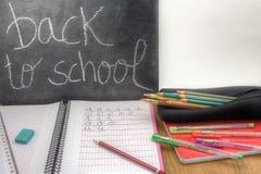 Back to school horizontal Royalty Free Stock Photo