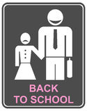 Back to school - icon Stock Photos