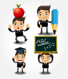 Back to school icon Stock Photography
