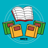 Back to school. Icon graphic design,  illustration clip art Royalty Free Stock Photography