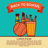 Back to School icon vector illustration Stock Images