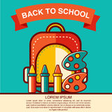 Back to School icon vector illustration Stock Photography