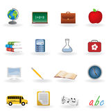 Back to school icons. Back to school icon set vector illustration
