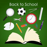Back to School Icons Set. Colorful Back to School Icons Set Stock Photo