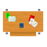 A back to school  illustration Royalty Free Stock Image