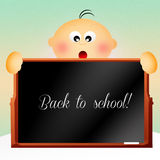 Back to school. Illustration of back to school Royalty Free Stock Images