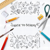 Back to school.  illustration. Stock Photography