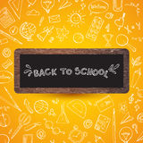 Back to school.  illustration. Royalty Free Stock Photography