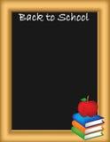 Back to school illustration Royalty Free Stock Image