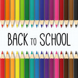 Back to school  illustration Stock Photography