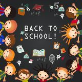 Back To School illustration Stock Image