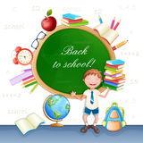 Back to school illustration. Stock Image