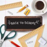 Back to school.  illustration. Stock Image