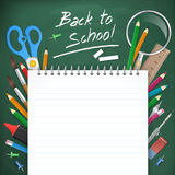 Back to school  illustration Stock Images