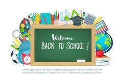 Back to school illustration Stock Photos