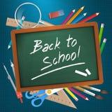 Back to school  illustration Royalty Free Stock Photo